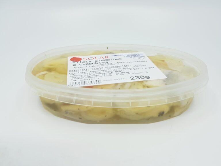Filety śledziowe z czosnkiem230g