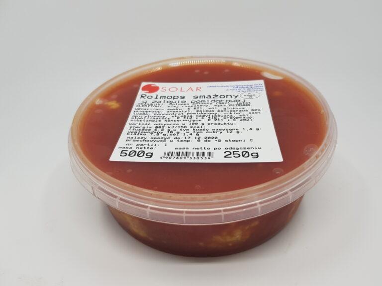 Rolmops smażony w pomidorach